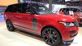 Download 2017 Range Rover SV Autobiography Dynamic - Exterior and Interior Walkaround - 2016 LA Auto Show Video