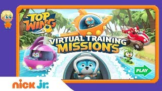 Download Top Wing: 'Virtual Training Missions' Official Game Walkthrough ✈️ | Nick Jr. Games Video