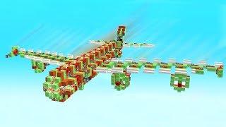 Download WORLD'S BIGGEST WORKING MINECRAFT PLANE! Video