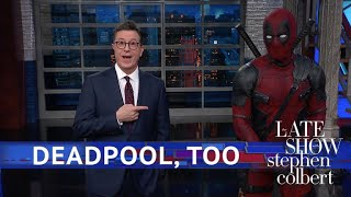 Download Deadpool Takes Over Stephen's Monologue Video