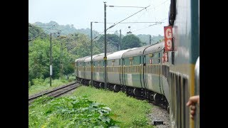 Download Mumbai To Ernakulam Via Konkan : Full Journey : 12201 LTT - KCVL Garibrath Express : Indian Railways Video