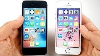 Download iPhone SE iOS 10.3.3 vs iPhone SE iOS 11 Goldmaster! Video