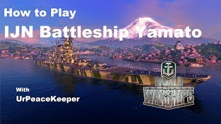 Download How To Play Japanese Battleship Yamato In World Of Warships Video
