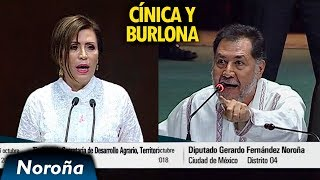 Download Noroña vs Robles: CÍNICA y BURLONA - [Completo] Video