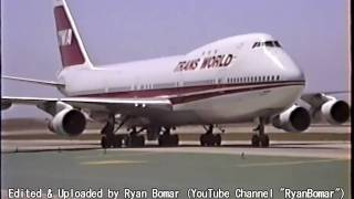 Download Ill-Fated TWA Boeing 747-131 at LAX Video