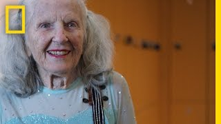 Download 90-Year-Old Figure Skater Will Warm Your Heart with Her Amazing Talent | Short Film Showcase Video