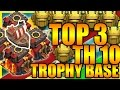 Download Clash Of Clans - ″New″ TOP 3 Town Hall 10 (TH10) Trophy Base 2017 | ANTI EVERYTHING | ANTI 2 STAR !! Video