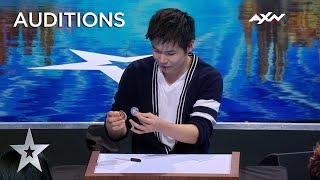 Download Magician Eric Chien MAKES COIN PHYSICALLY DISAPPEAR! | Asia's Got Talent 2019 on AXN Asia Video