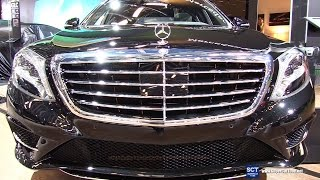 Download 2017 Mercedes Benz S Class S 550 4Matic - Exterior and Interior Walkaround - 2017 Montreal Auto Show Video