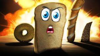 Download Я ЕСТЬ ХЛЕБ | ПРИКЛЮЧЕНИЯ ХЛЕБУШКА Прикольная мульт игра для детей I am Bread Video
