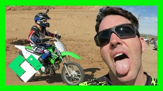 Download I'M SO WEAK! DIRT BIKE RIDING AT THE TRACK (Day 1604) | Clintus.tv Video