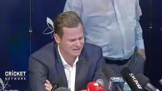 Download Smith breaks down during emotional press conference Video