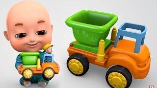 Download Surprise Eggs | Construction Truck Toys Part 2 for Kids | Surprise Eggs videos from Jugnu kids Video