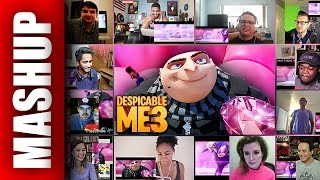 Download DESPICABLE ME 3 Official Trailer Reactions Mashup Video