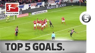 Download Top 5 Goals - Dembele, Lewandowski, Aubameyang and More with Sensational Strikes Video