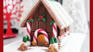 Download Candy Christmas House! A non-Gingerbread, No Bake Light Up Chocolate Xmas Alternative Video