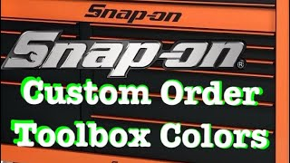 Download Snap On Special Order Toolboxes Video