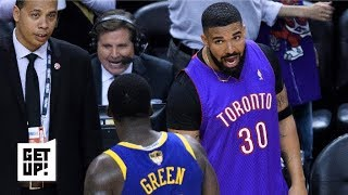 Download Drake trolls the Warriors in epic fashion in Game 1 | Get Up! Video