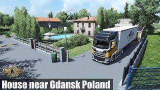 Download ✅ [ETS2 1.31] House near Gdansk Poland / Park & Sleep Video
