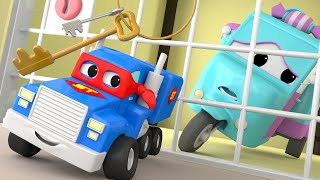 Download The MINI Truck - Carl the Super Truck in Car City Video for Children with Trucks and Cars Video
