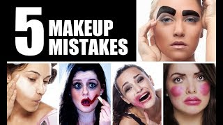 Download THE FIVE BIGGEST MAKEUP MISTAKES EVER!!!! Video