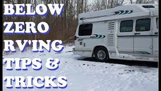Download Winter RV Tips ~ 5 Below Zero Temps & Ways to Keep RV Warm Video