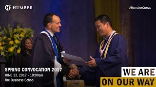 Download Spring Convocation 2017 - The Business School (A) Video