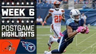 Download Browns vs. Titans | NFL Week 6 Game Highlights Video