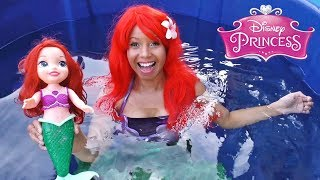 Download Disney Princess Ariel Toy Dunk Tank Challenge! || Disney Toy Review || Konas2002 Video