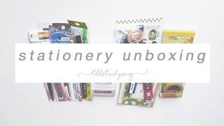 Download stationery unboxing   zenpop Video