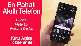 Download En pahalı akıllı telefon l Huawei Mate 10 Porsche Design ilk izlenimler Video