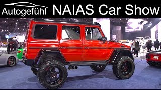 Download NAIAS Detroit Motor Show 2019 highlights REVIEW TOUR - Autogefühl Video