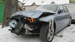 Download BMW 3. Repair of a body and minimum of painting. Ремонт кузова и минимум покраски. Video