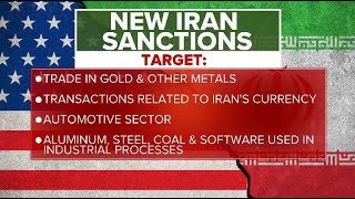 Download Trump imposes ″most biting sanctions ever″ on Iran Video