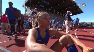 Download Olympic Track And Field Trials | Allyson Felix Shows Burst To Qualify For Rio In 400m Video