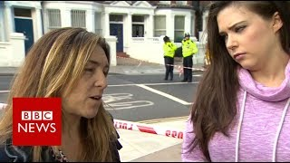Download Parsons Green: 'There was a human stampede' - BBC News Video