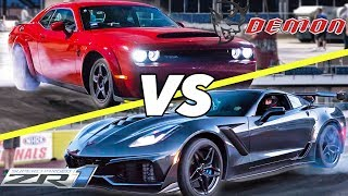 Download 2018 ZR1 vs Demon! | Who is REALLY faster? Video