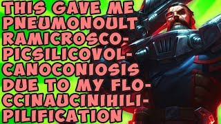 Download This Gave Me Pneumonoultramicroscopicsilicovolcanoconiosis Due To My Floccinaucinihilipilification Video