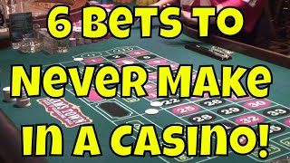 Download 6 Bets To Never Make in a Casino! Video