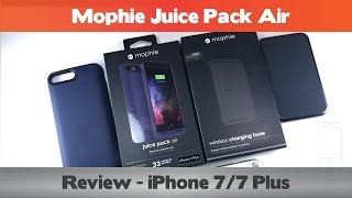 Download Wireless charging for the iPhone 7? Mophie Juice Pack Air Review - iPhone 7 Battery cases Video