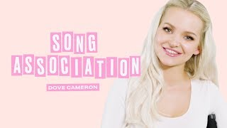 Download Dove Cameron Sings Miley Cyrus, Queen and Journey in a Game of Song Association | ELLE Video
