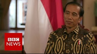 Download Indonesia's President Joko Widodo Interview - BBC News Video