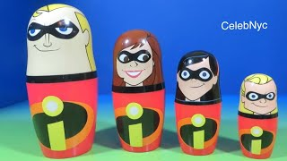 Download The Incredibles Kinder Surprise Stacking Cups Hidden Surprise Eggs Disney Opening Unboxing Video