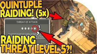 Download QUINTUPLE (5x) RAIDING + LEVEL 5 THREAT LEVEL?! (R.I.P. ME)- Last Day On Earth Survival 1.7.2 Update Video