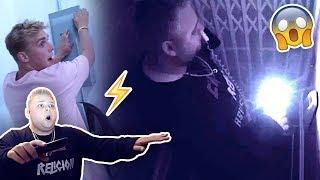 Download INSANE ELEVATOR TRAP PRANK **CROMPTON GETS STUCK** Video