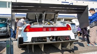 Download Honda NSX Turbo 650hp Time Attack Video