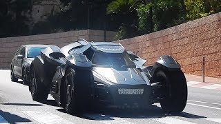 Download Monaco Supercars 2017 - 3: BATMOBILE, Veyron, 918 Spyder, AMG GTR, Viper...HD Video