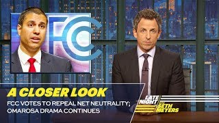 Download FCC Votes to Repeal Net Neutrality; Omarosa Drama Continues: A Closer Look Video