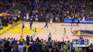 Download Stephen Curry 17 pts in 3 minutes 2015.12.28 vs Kings Video