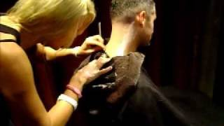 Download New!!! Free! neck shave with any hair service from The Den Salon Downtown Long Beach Video